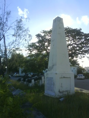 Holetown Monument, Holetown, Barbados